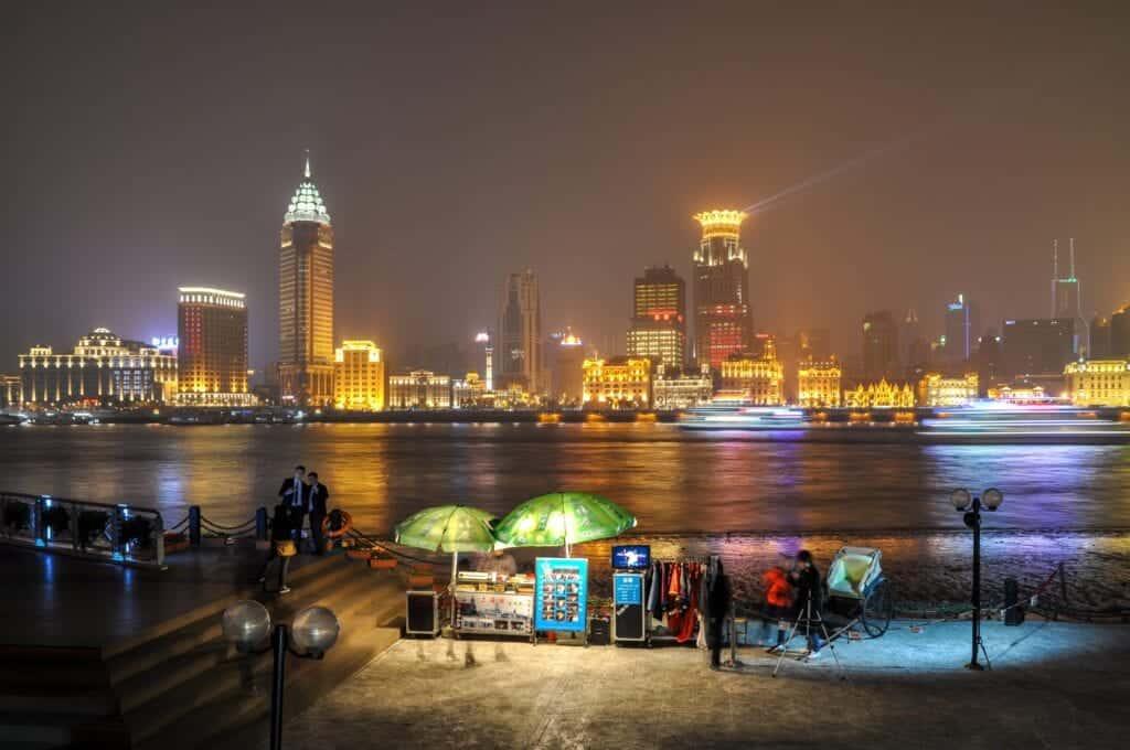 The bund Shanghai china