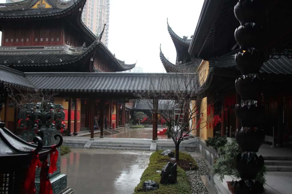 Nanshi old town at yu garden.
