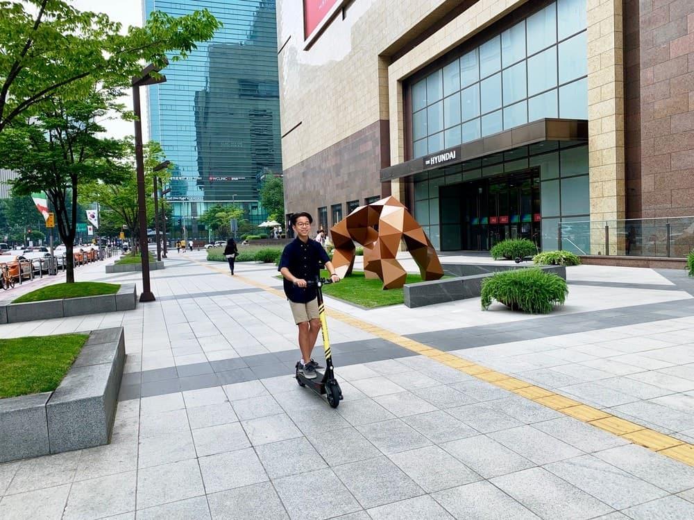 Gangnam City street