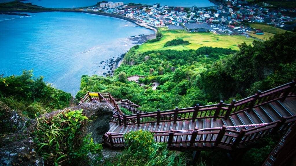 Jeju island beah
