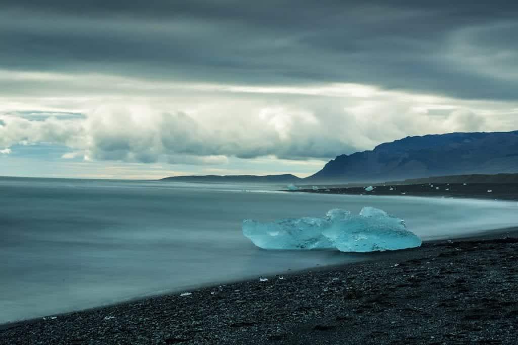 Ice beach iceland.