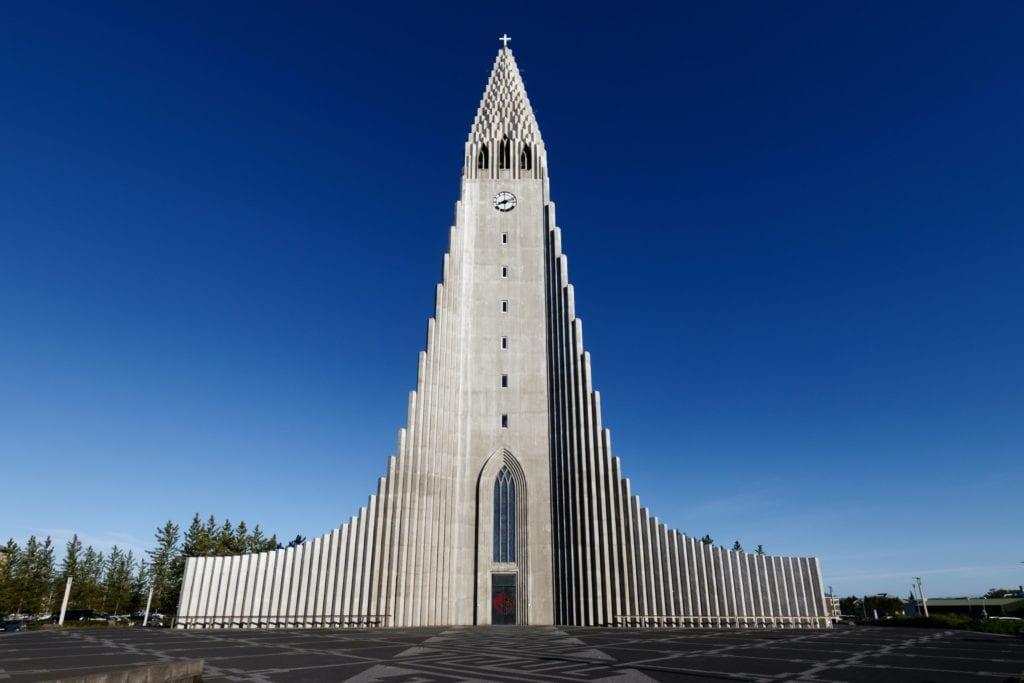 Nice church in the maincity on Iceland.
