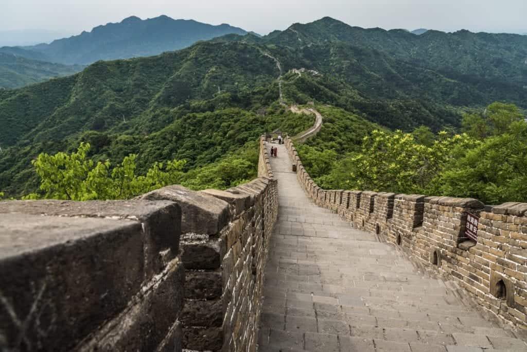 Kinersiska muren i kina