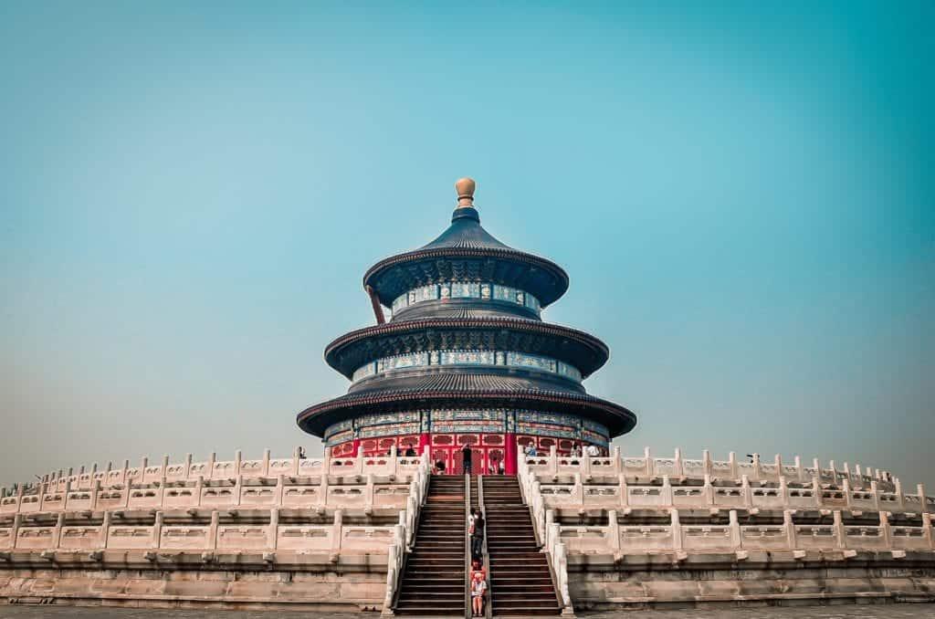 Temple of Heaven i peking.