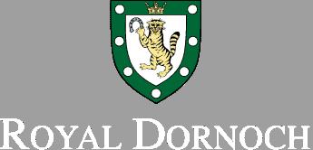Logotypen för Royal dornoch.
